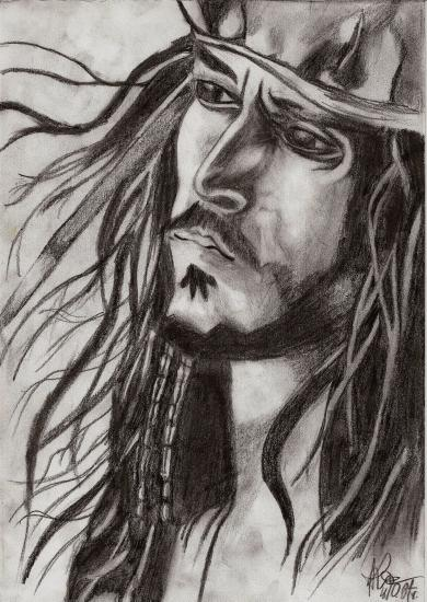 Johnny Depp by AsiulkA